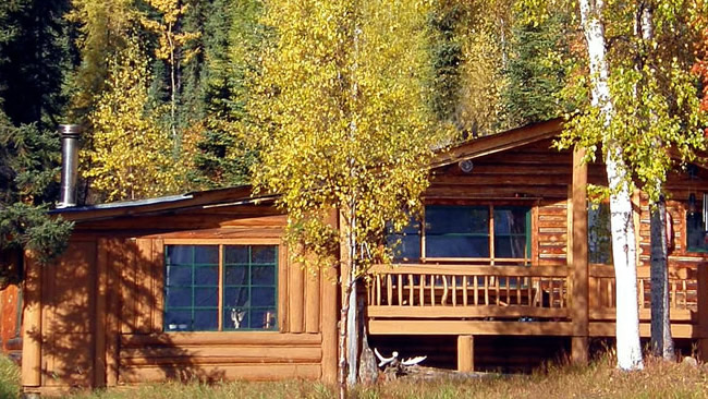 Lodges und Cabins Pioneer-Tours